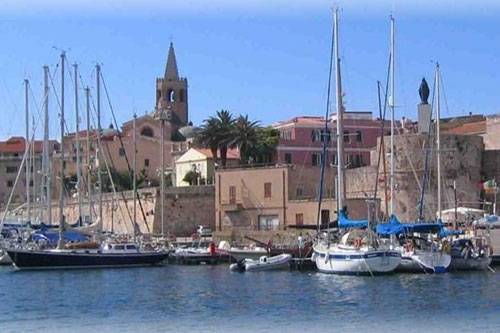Alghero Harbour, Sardinia