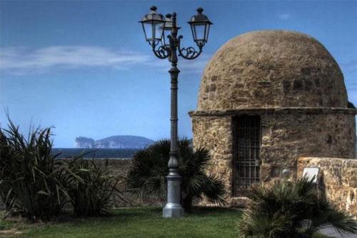 Vista su Capo Caccia, Alghero