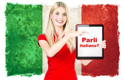 learn italian in italy: